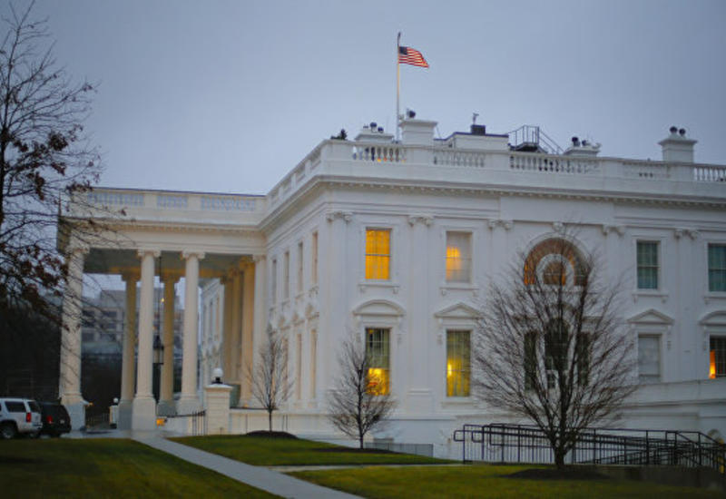 У Белого дома задержали мужчину с оружием и тремя ножами