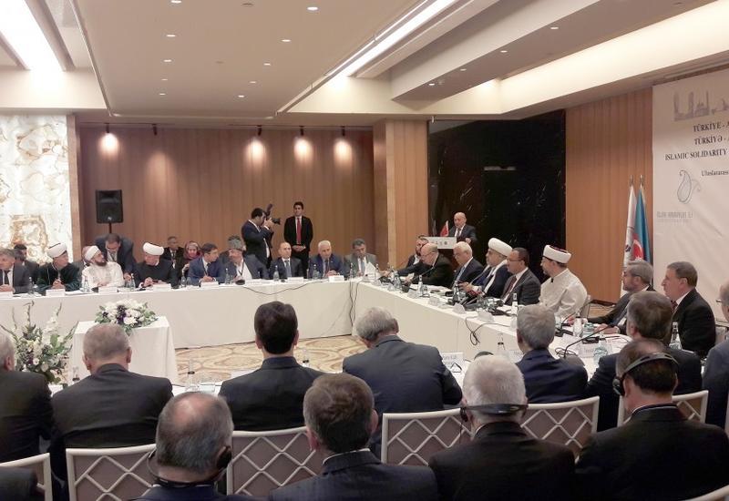 В Стамбуле проходит международная конференция на тему «Исламская солидарность на примере турецко-азербайджанской дружбы»