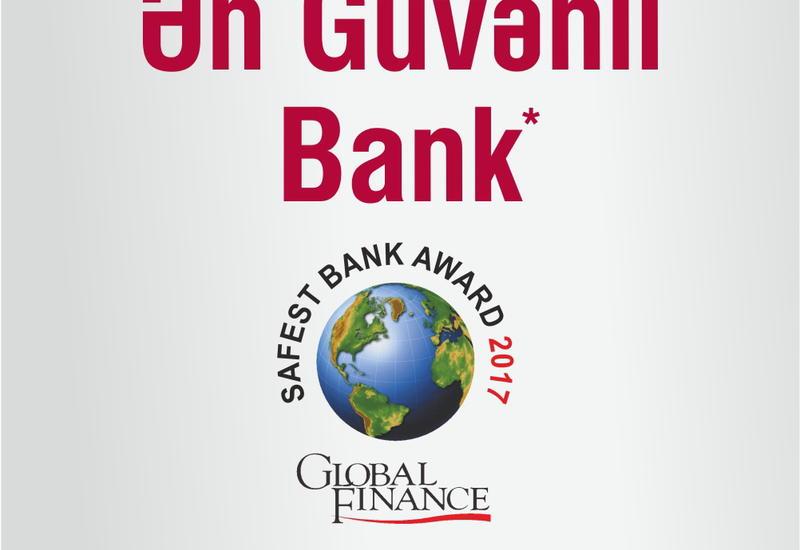 Kapital Bank назван «Самым надежным банком»