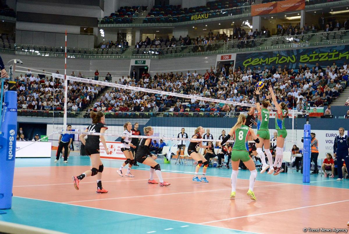 Россиянки сыграют встолице Азербайджана начемпионате Европы