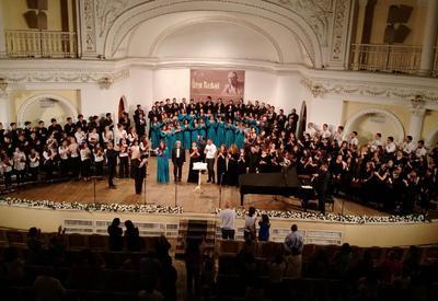 """Четыре хора устроили грандиозный концерт в Филармонии <span class=""""color_red"""">- ФОТО</span>"""