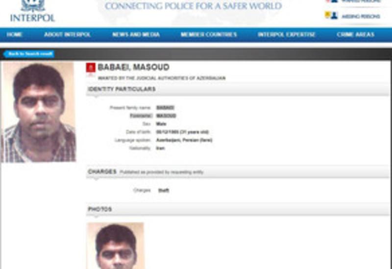 Азербайджан объявил гражданина Ирана в международный розыск