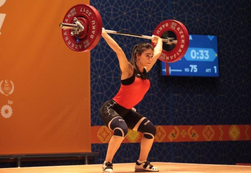 Азербайджанская спортсменка стала чемпионкой Европы