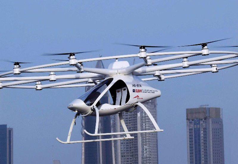 """В Дубае испытали первое в мире беспилотное летающее такси <span class=""""color_red"""">- ВИДЕО</span>"""