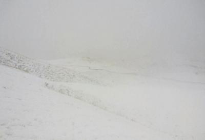 В Хыналыге выпало 13 см снега