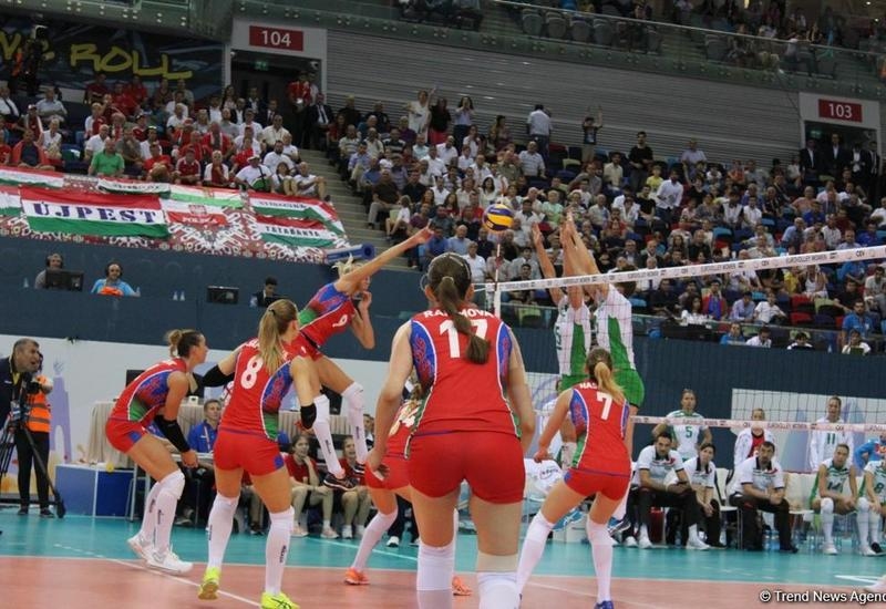 Сегодня на Евро-2017 волейбольная сборная Азербайджана сыграет в 1/4 финала с командой Германии