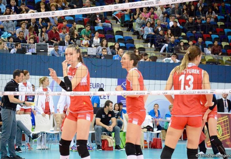 Азербайджанские волейболистки стали самыми результативными в Софии