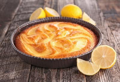 Ароматный лимонный пирог - Пошаговый рецепт