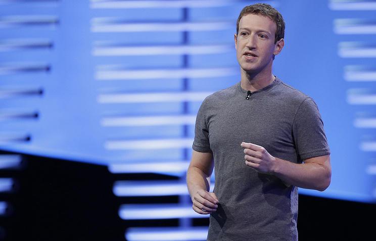 Цукерберг даст показания в съезде обутечке пользовательских данных