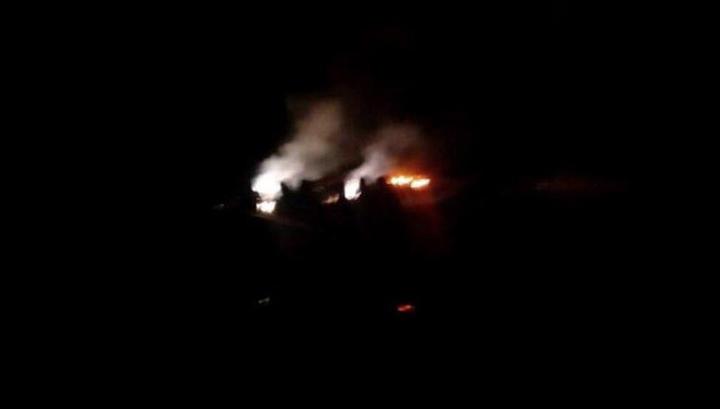 При крушении самолета под Алматы погибли 5  человек, втом числе кыргызстанец