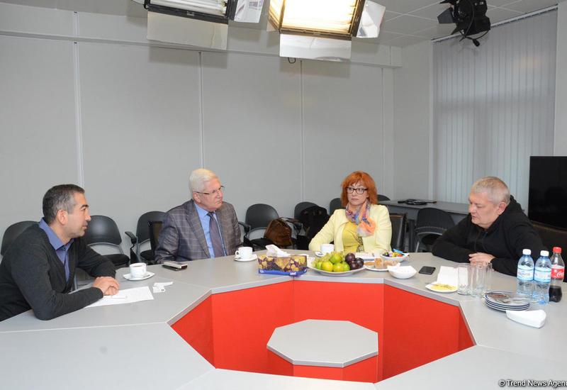 Литовские журналисты побывали в АМИ Trend