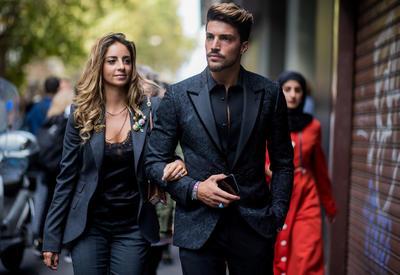 """Идеальный стритстайл - Самые модные мужчины с Недель моды <span class=""""color_red"""">- ФОТО</span>"""