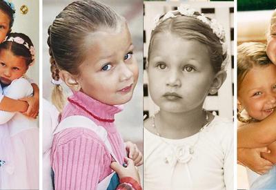 15 фотографий из детского альбома малышки Беллы Хадид