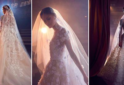 """13 свадебных платьев мечты от Elie Saab, чтобы произнести заветное «Да!» <span class=""""color_red"""">- ФОТО</span>"""