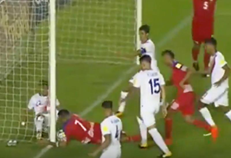 Панама попала на ЧМ-2018 после ошибочно засчитанного гола