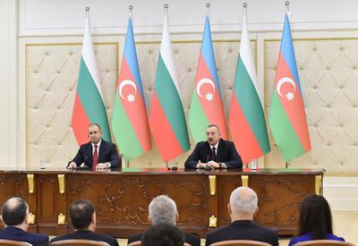 Президент Ильхам Алиев: Азербайджанский газ сыграет свою роль в решении вопросов энергетической безопасности Болгарии