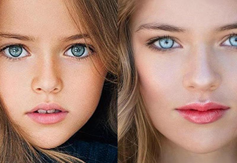 Самые красивые дети планеты во взрослом возрасте