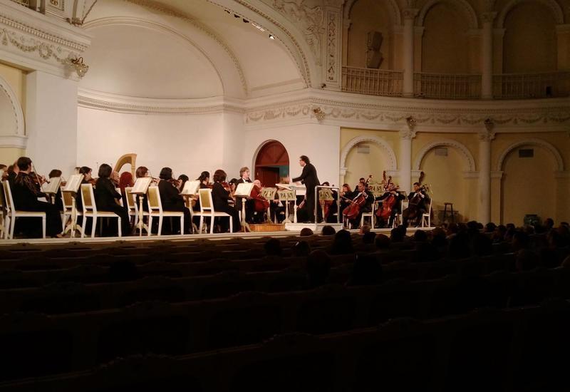 На концерте в Филармонии состоялась премьера симфонической сюиты С.Прокофьева «Поручик Киже»