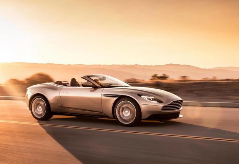 "Представлен новейший кабриолет Aston Martin DB11 Volante <span class=""color_red"">- ФОТО</span>"