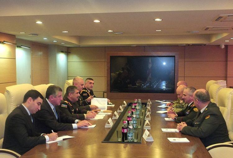 Главы оборонных структур Азербайджана, Грузии иТурции подписали совместный протокол