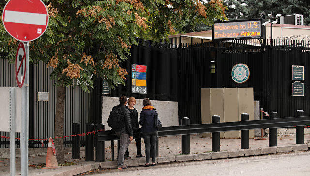 Власти Турции освободили супругу идочь сотрудника генконсульства США