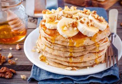 Овсяные оладьи с бананами - Пошаговый рецепт