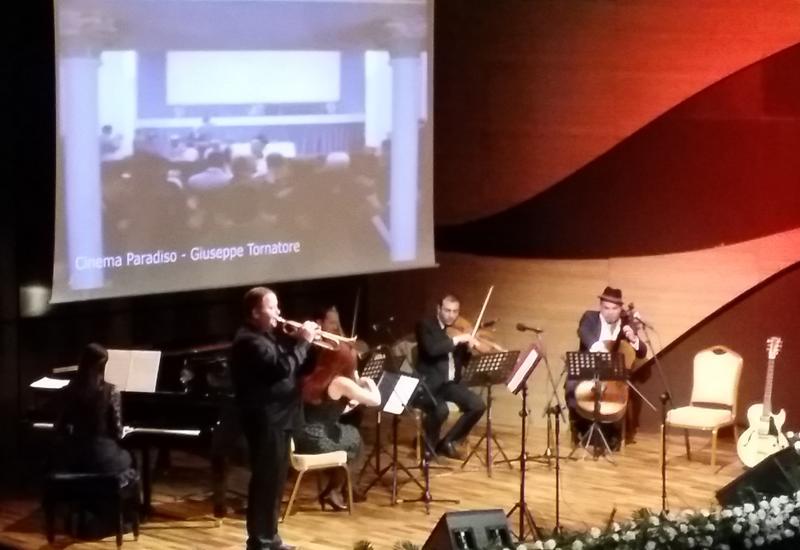 В Центре мугама прозвучала музыка Эннио Морриконе, Генри Манчини и Нино Рота