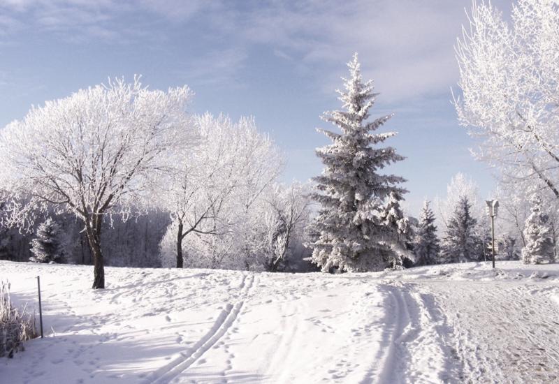 В Азербайджане выпало 9 см снега