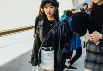 """Как носить кожаную куртку весной - 10 модных образов на каждый день <span class=""""color_red"""">- ФОТО</span>"""