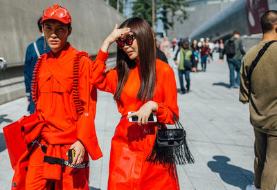 "Streetstyle на Неделе моды в Сеуле <span class=""color_red"">- ФОТО</span>"