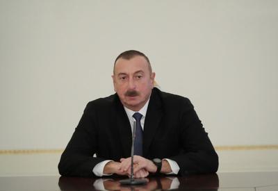 Президент Ильхам Алиев: Мы должны делать все для того, чтобы через наши границы не проникали опасные элементы