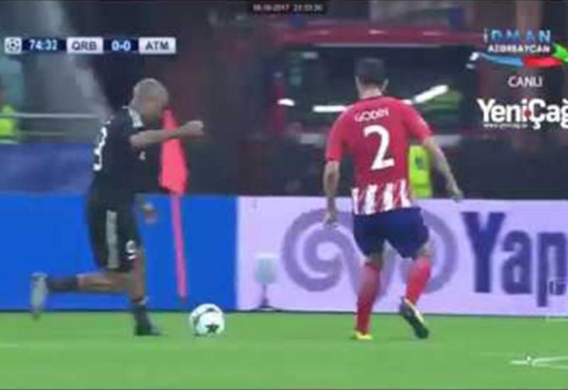 """Qarabağ"" - ""Atletiko"": Bu epizodda penalti verilmədi <span class=""color_red"">- VİDEO</span>"