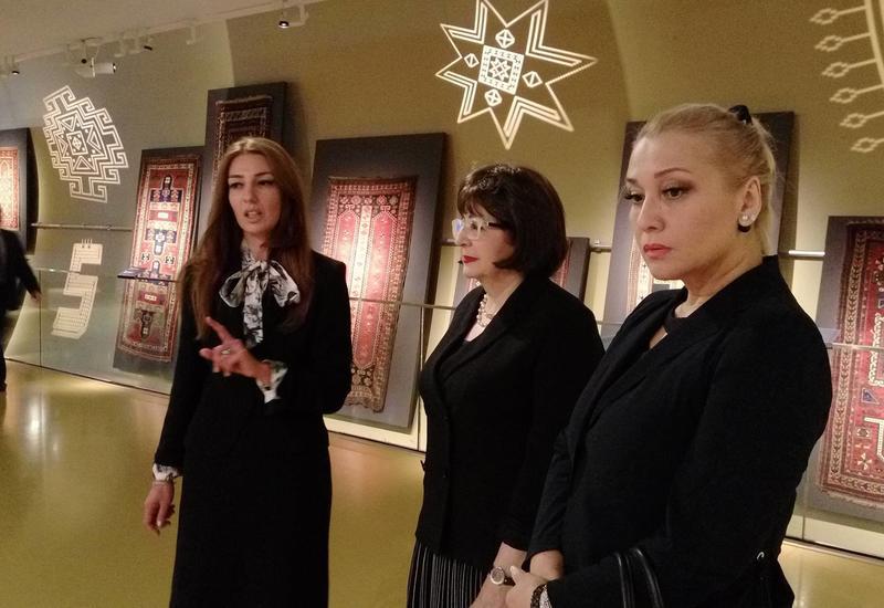 """В Баку показали """"Ковер-самолет"""": 2 выставки в Музее ковра <span class=""""color_red"""">- ФОТО</span>"""