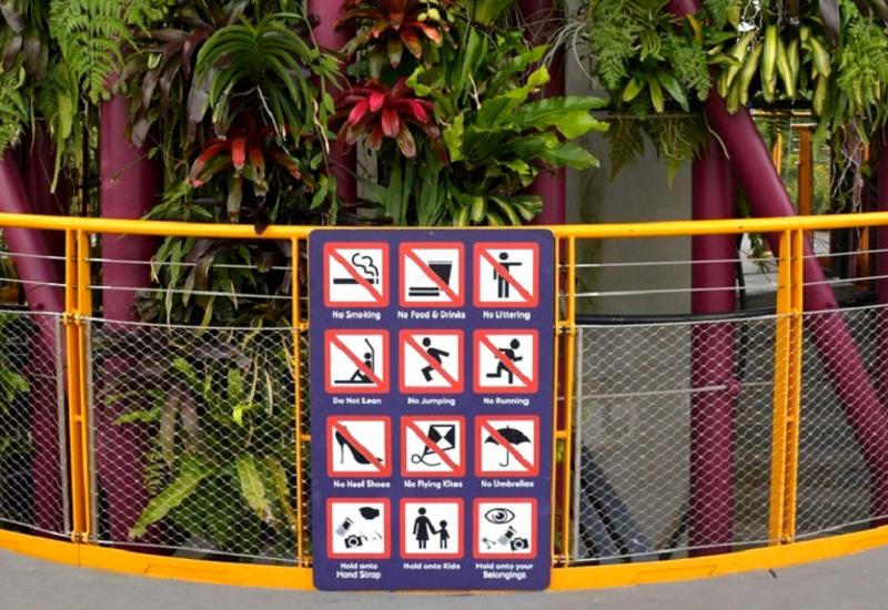 """Нам не понять: за что штрафуют и сажают в тюрьму в Сингапуре <span class=""""color_red"""">- ФОТО</span>"""