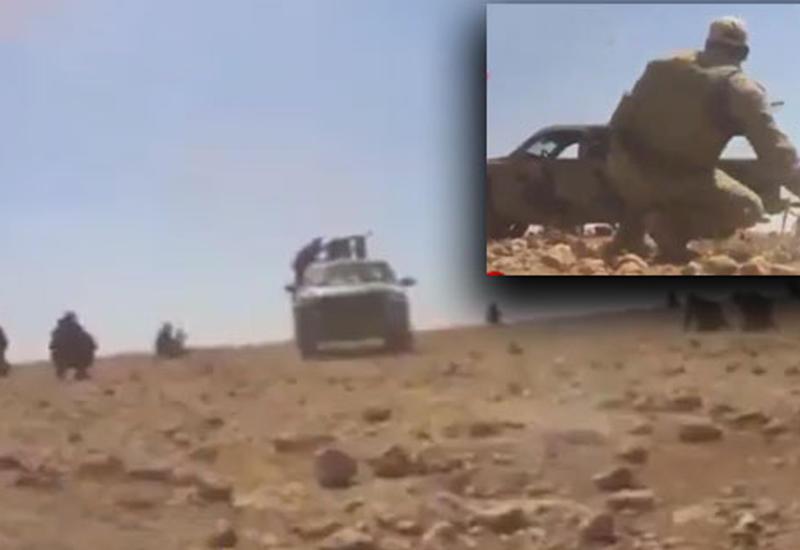 """Захватывающее дух столкновение сирийской армии с """"ИГ"""" в районе Аль-Маядин <span class=""""color_red"""">- ВИДЕО</span>"""
