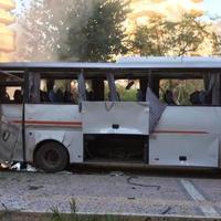 """В Турции взорвали полицейский автобус, много раненых <span class=""""color_red"""">- ФОТО - ВИДЕО</span>"""
