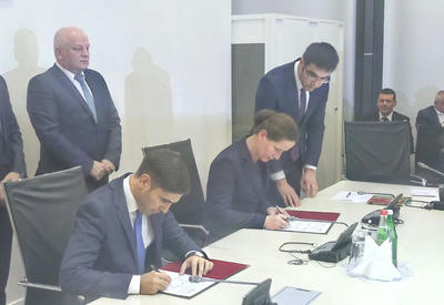 "Азербайджан и Украина создадут совместное предприятие <span class=""color_red"">- ФОТО</span>"
