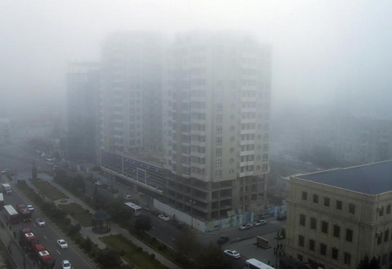 В Баку будет туманно, но тепло