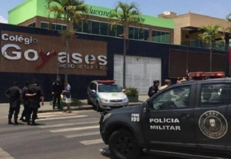 """В Бразилии сын полицейского расстрелял одноклассников <span class=""""color_red"""">- ОБНОВЛЕНО - ВИДЕО</span>"""
