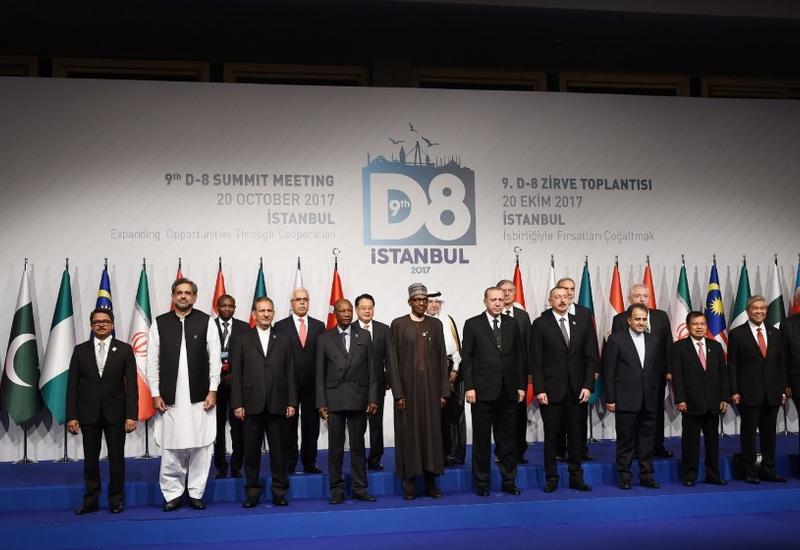 Выступление Президента Ильхама Алиева на саммите D-8 было направлено на конкретные цели