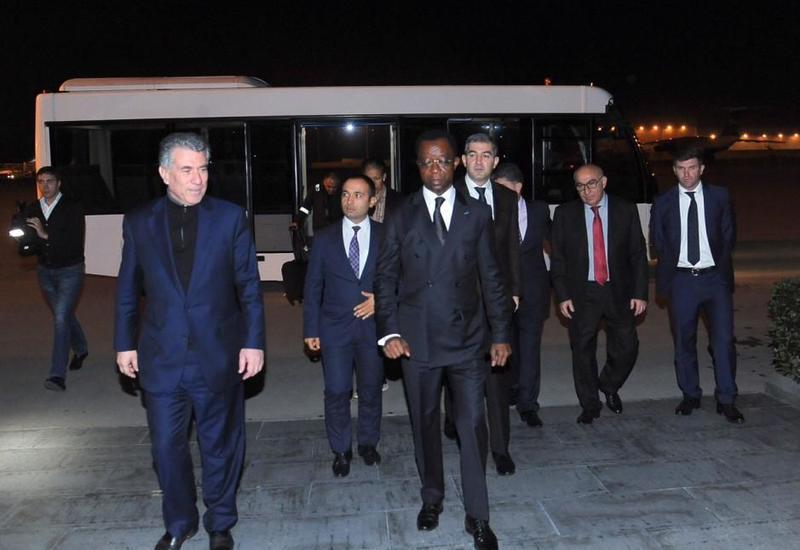 "Президент Панафриканского парламента прибыл в Азербайджан <span class=""color_red"">- ФОТО</span>"