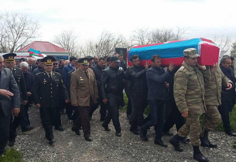 В результате провокации Армении военнослужащий ВС Азербайджана стал шехидом