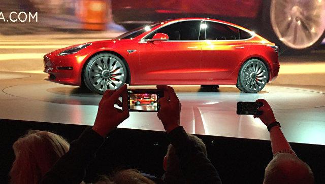 Tesla построит завод вКитайской народной республике - СМИ