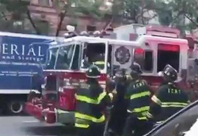 """Водитель пытался сбежать с места ДТП на пожарной машине <span class=""""color_red"""">- ВИДЕО</span>"""