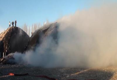 """Сильный пожар в Билясуваре <span class=""""color_red"""">- ОБНОВЛЕНО</span>"""