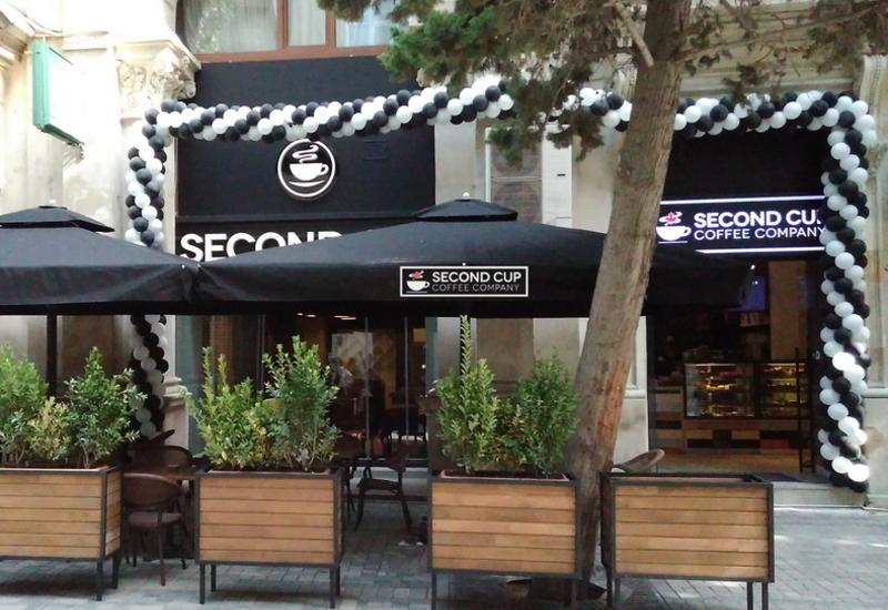 В Баку открылось четвертое кафе Second Cup