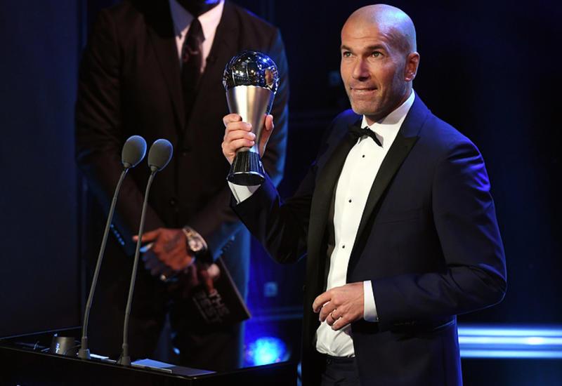 Зидан стал лучшим тренером года по версии ФИФА