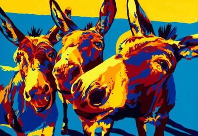 """""""Картинная галерея"""" Day.Az: Животные и искусство <span class=""""color_red"""">- ФОТО</span>"""