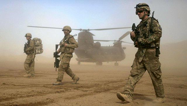 Американский военный умер при крушении вертолета вАфганистане