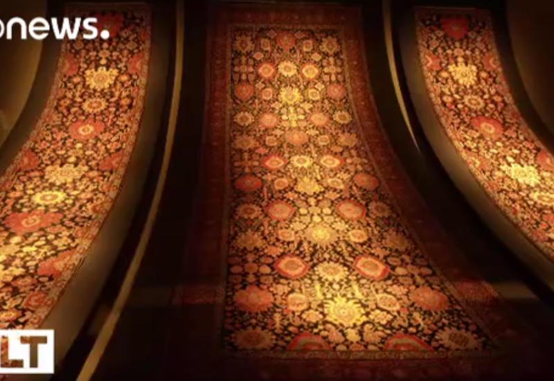 Euronews рассказал о чудесах ковроткачества в Азербайджане